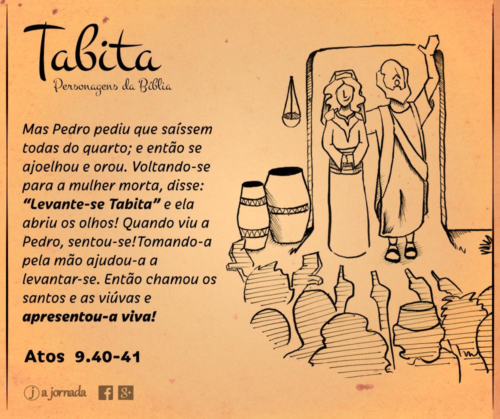 Tabita - Personagens da Bíblia