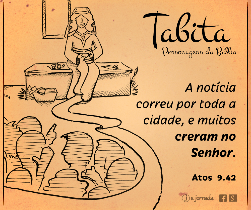 Personagens da Bíblia - Tabita